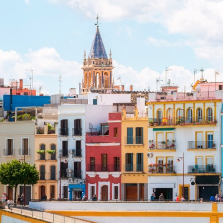 Calle Betis in Seville (Andalusia)
